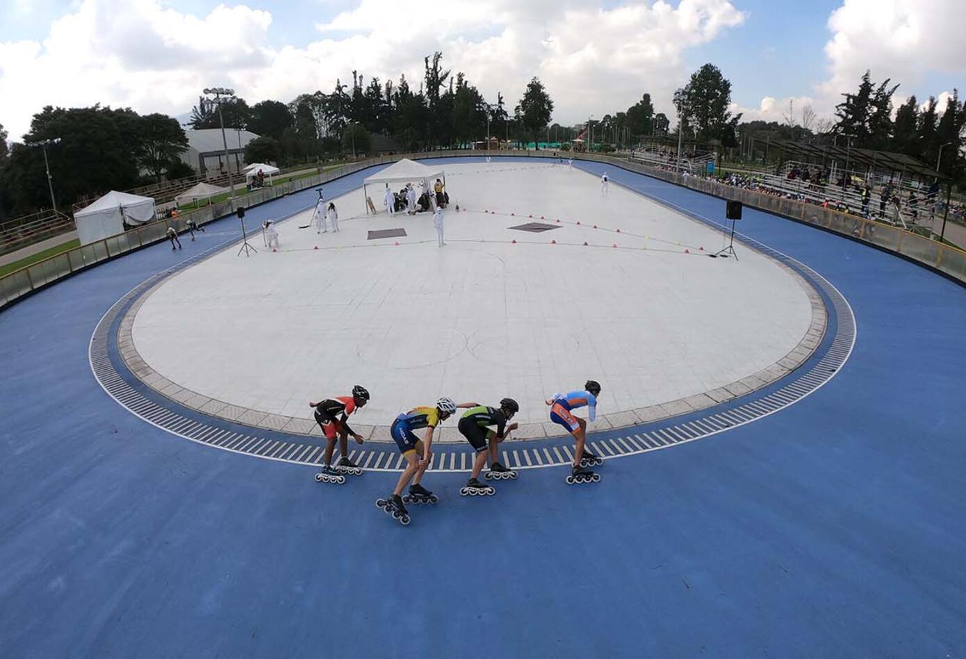 Válida Nacional Interclubes de patinaje de velocidad