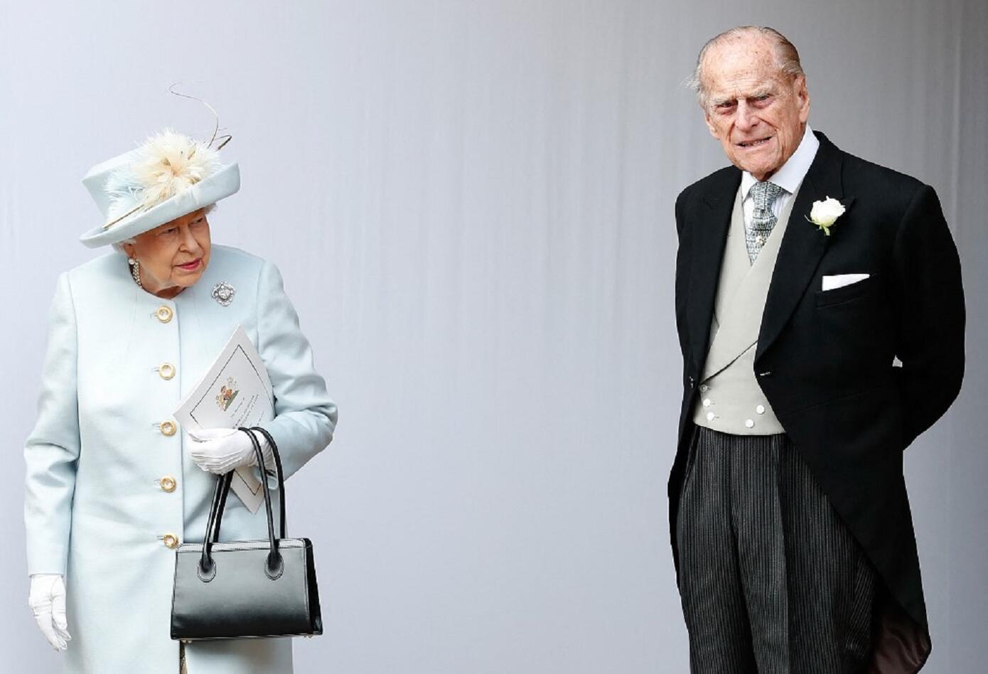 Reina Isabel y príncipe Felipe