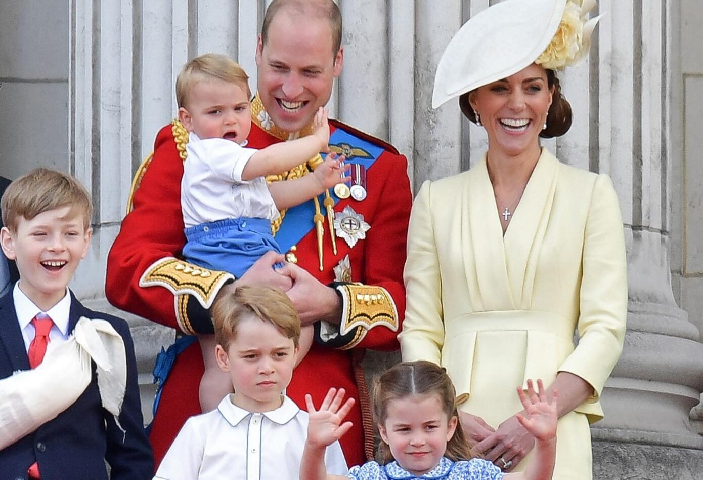 El príncipe William y KateMiddleton
