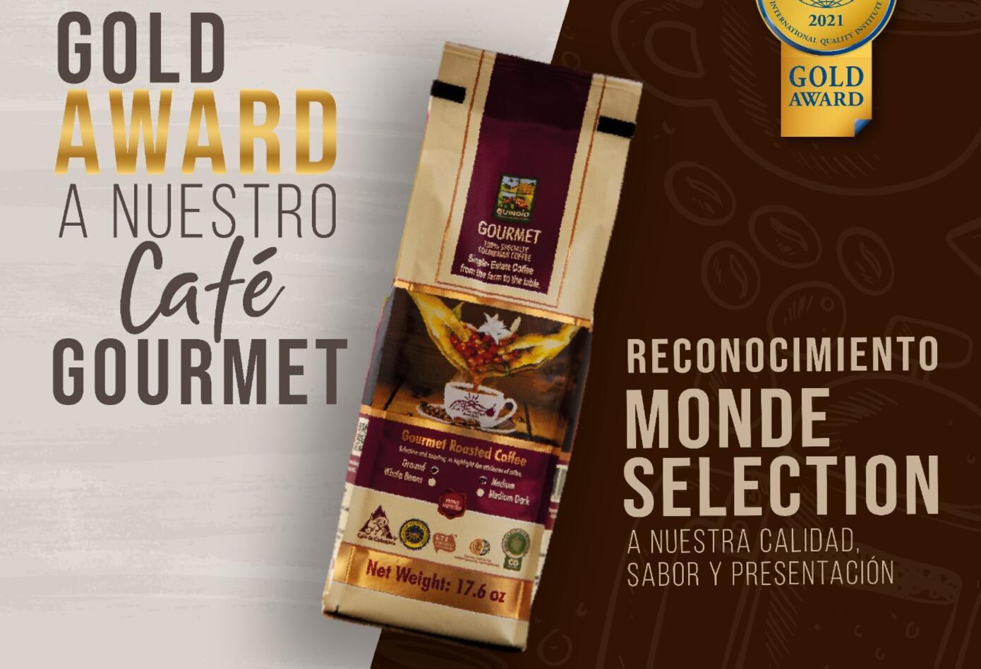 Café La Morelia recibe medalla de oro en Bruselas - Archivo Café La Morelia