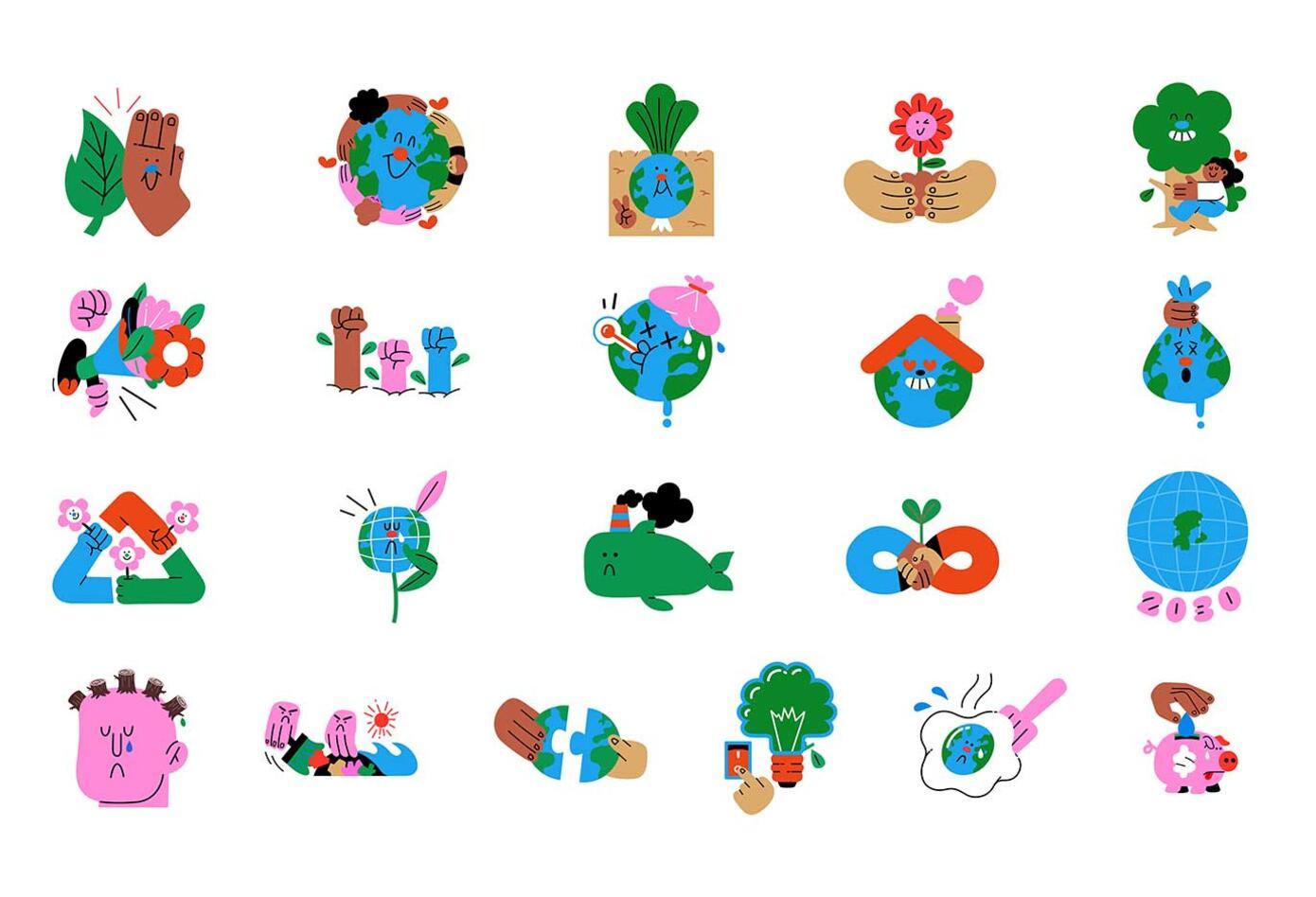 Nuevos stickers de WhatsApp
