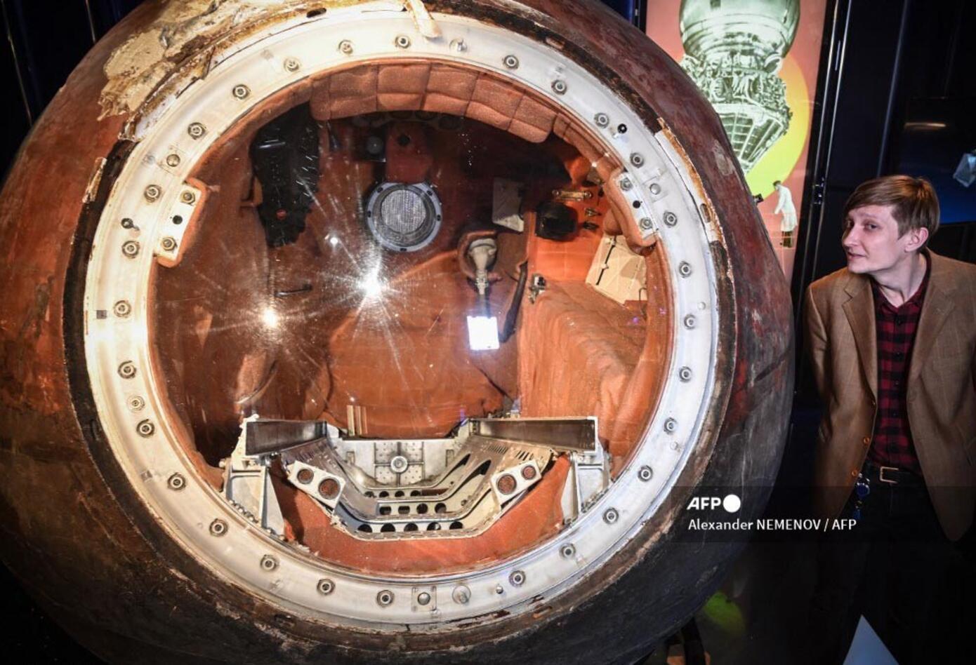 Yuri Gagarin, soviético que se convirtió en el primer hombre en viajar al espacio