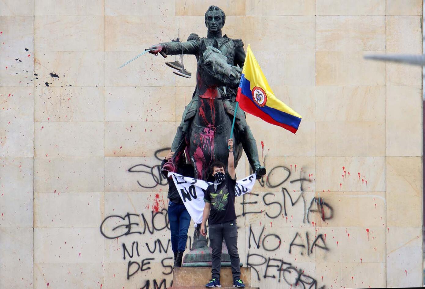 Paro nacional Colombia 2021: 12 de mayo