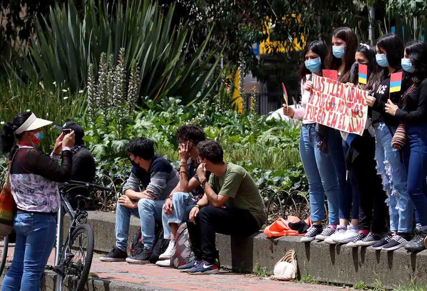 Protestas en Bogotá - bloqueos en Bogotá 12 de mayo
