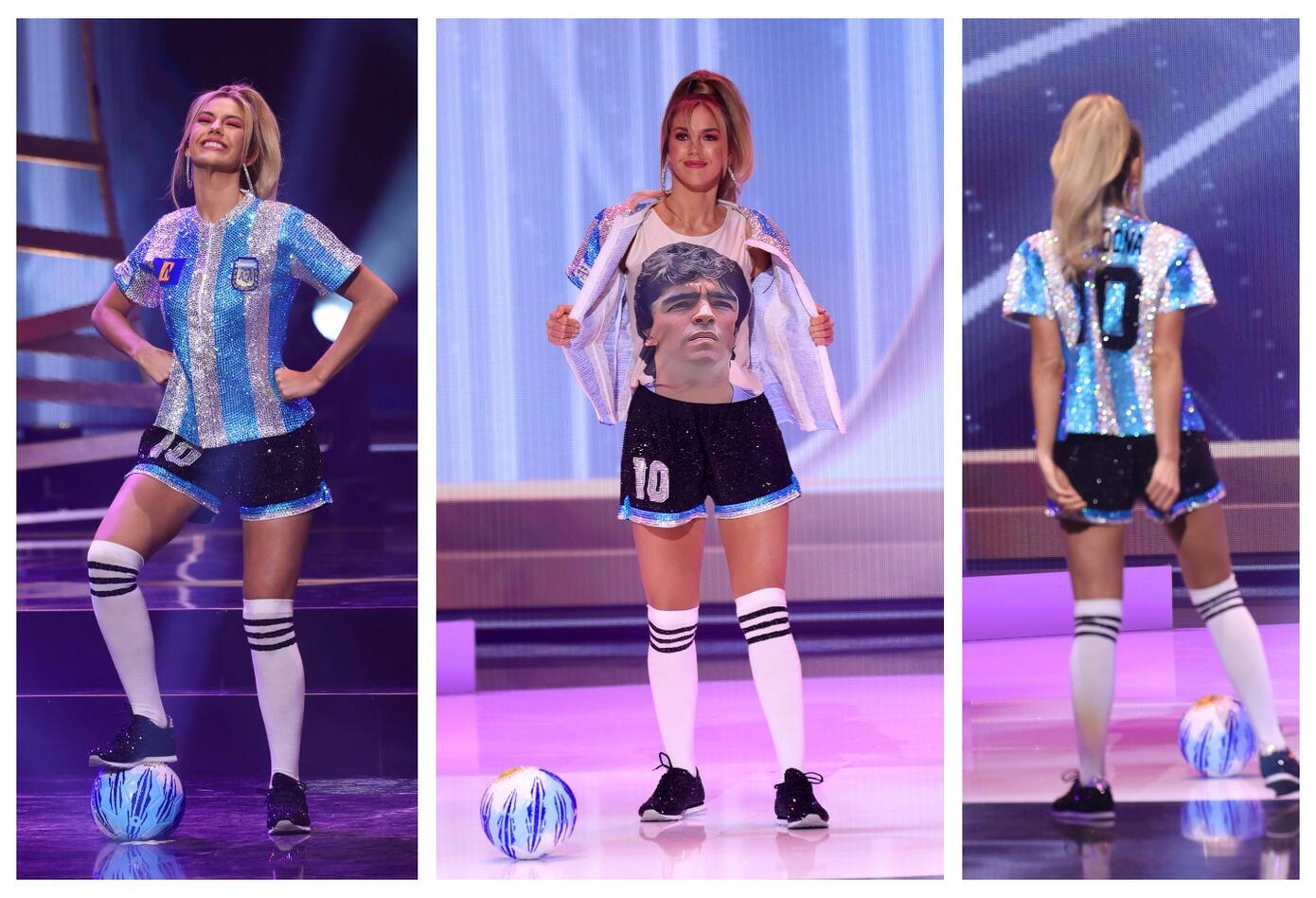 Miss Argentina, Alina Akselrad en Miss Universo