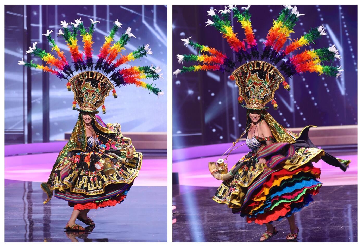 Miss Bolivia, Lenka Nemer en Miss Universo