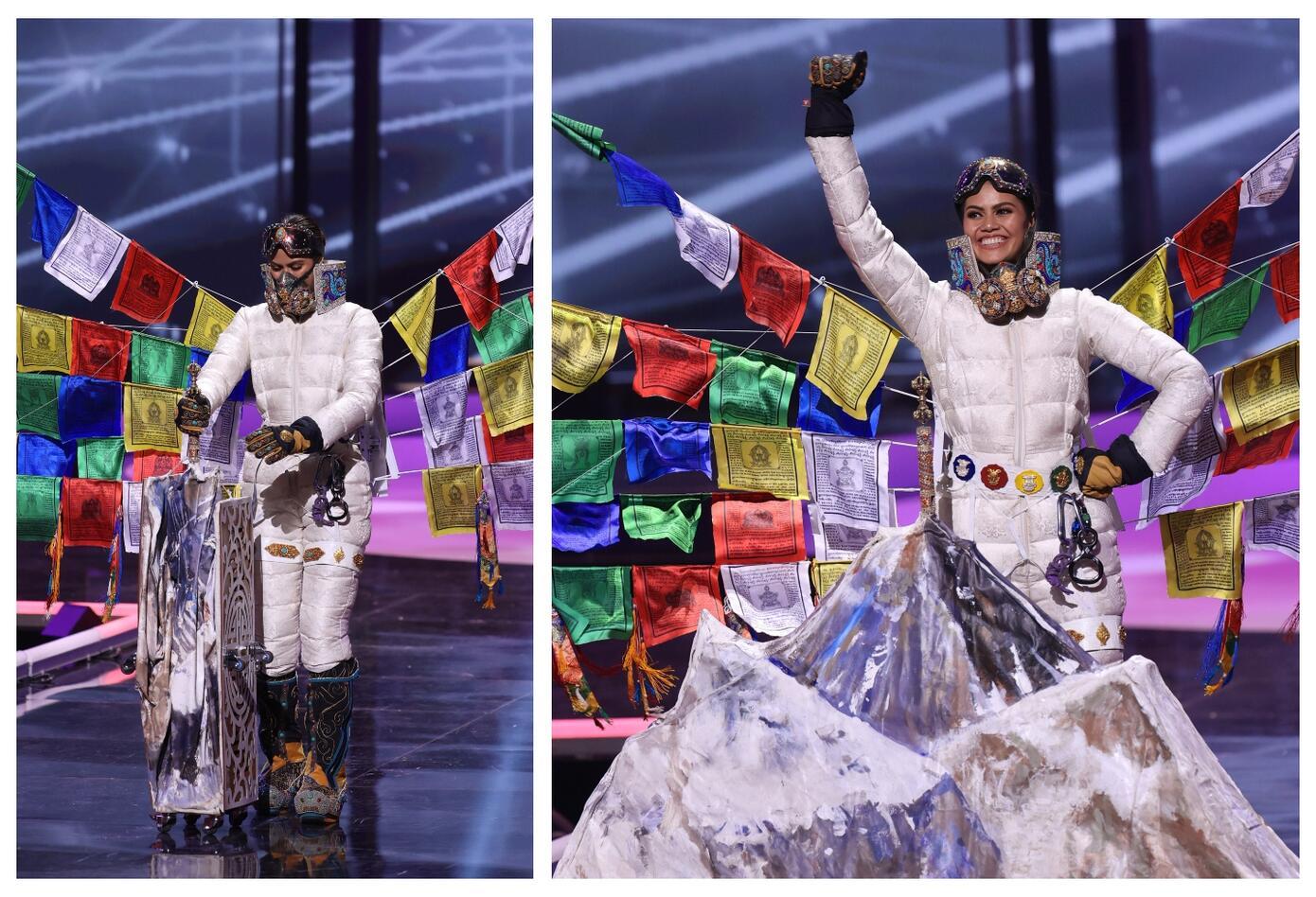 Miss Nepal, Anshika Sharma en Miss Universo