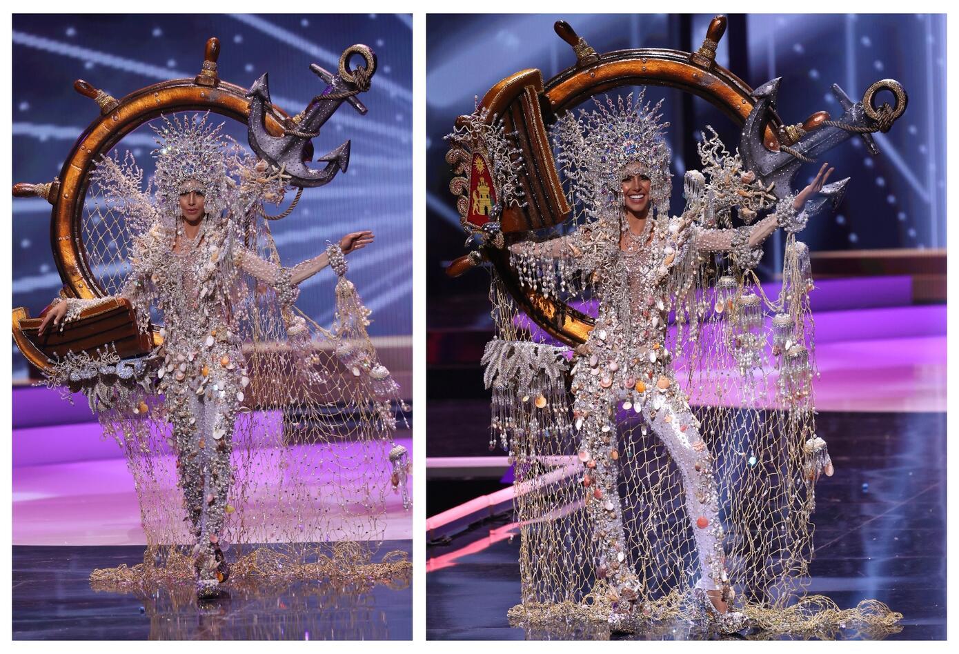 Miss Panamá, Carmen Jaramillo en Miss Universo