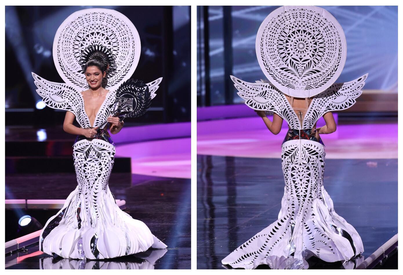 Miss Ucrania, Yelyzaveta Yastremska en Miss Universo