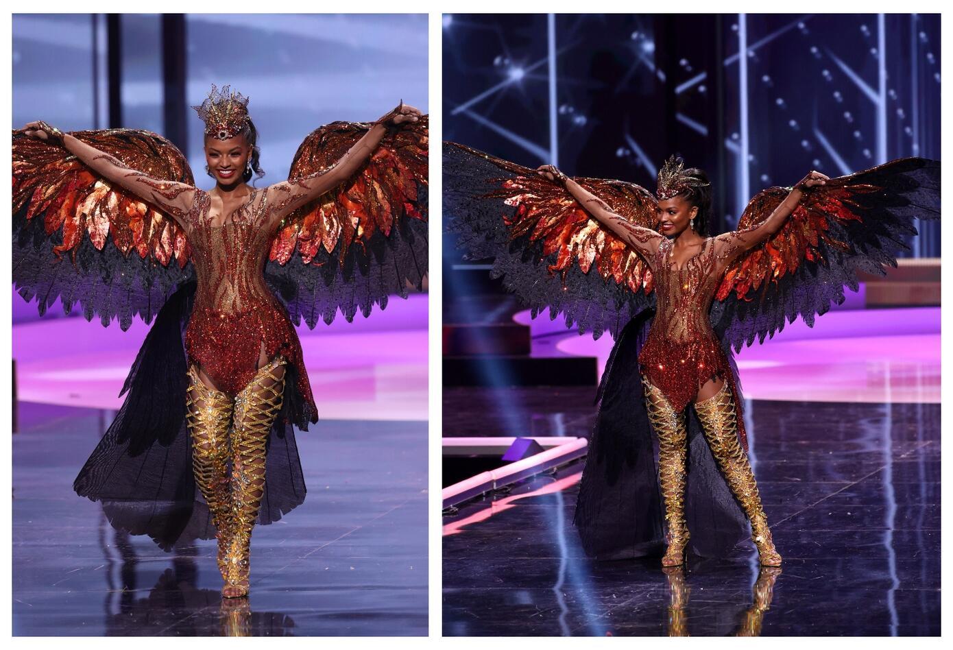 Miss USA Asya Branch en Miss Universo