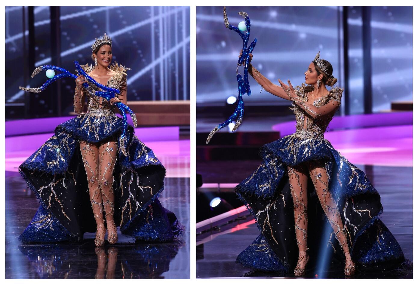 Miss Venezuela Mariángel Villasmil en Miss Universo