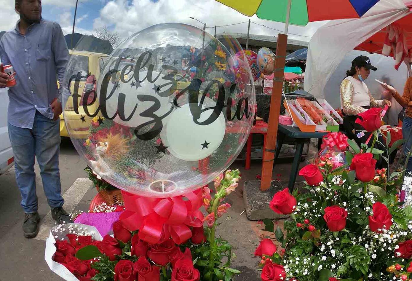 Día de la madre: vendedores de flores en Bogotá aumentaron ventas
