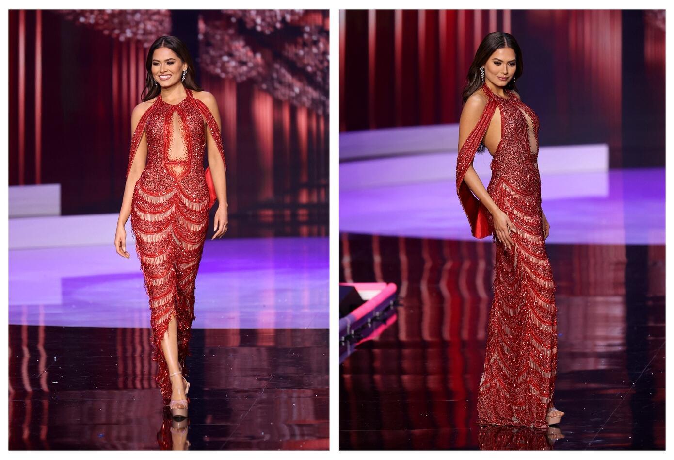 Vestido de Miss México, Andrea Meza, coronada como Miss Universo 2020