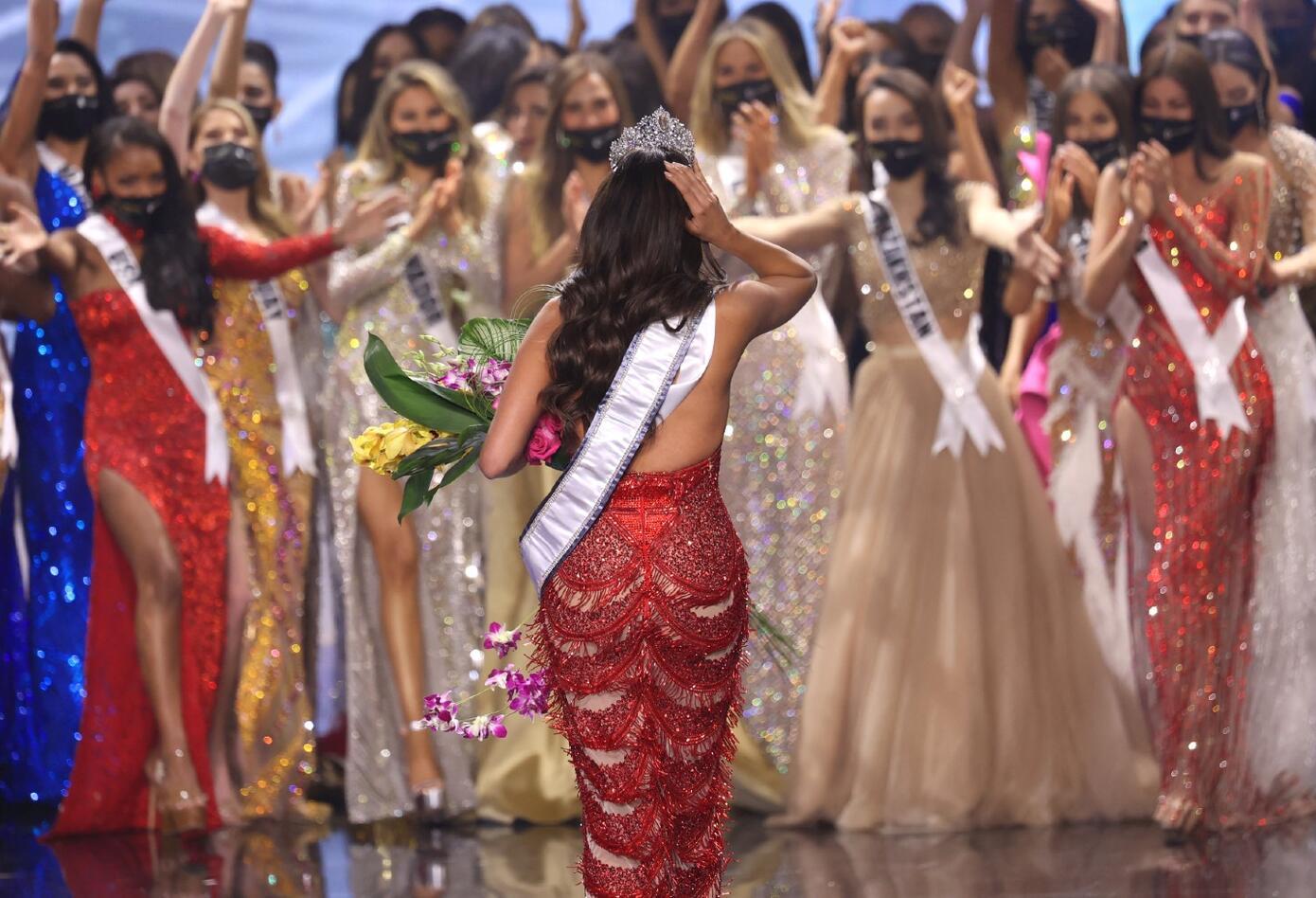 Andrea Meza, Miss Universo 2020