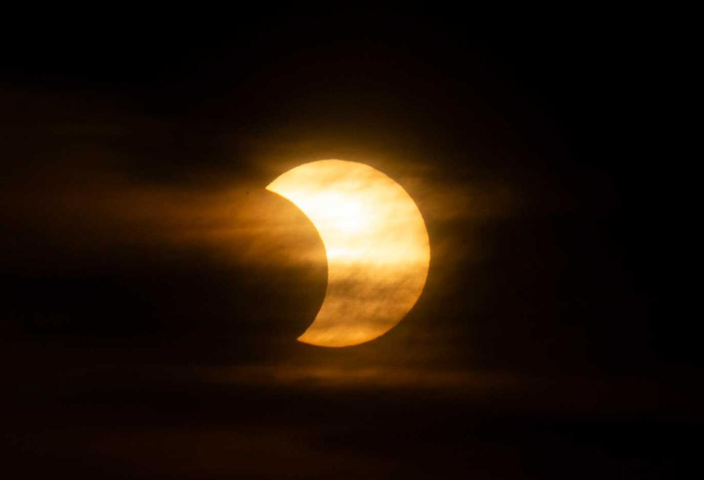 Así luce Eclipse anillo de fuego