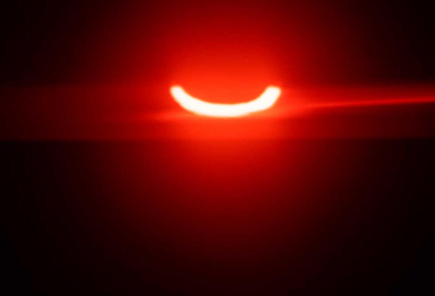 El eclipse anillo de fuego