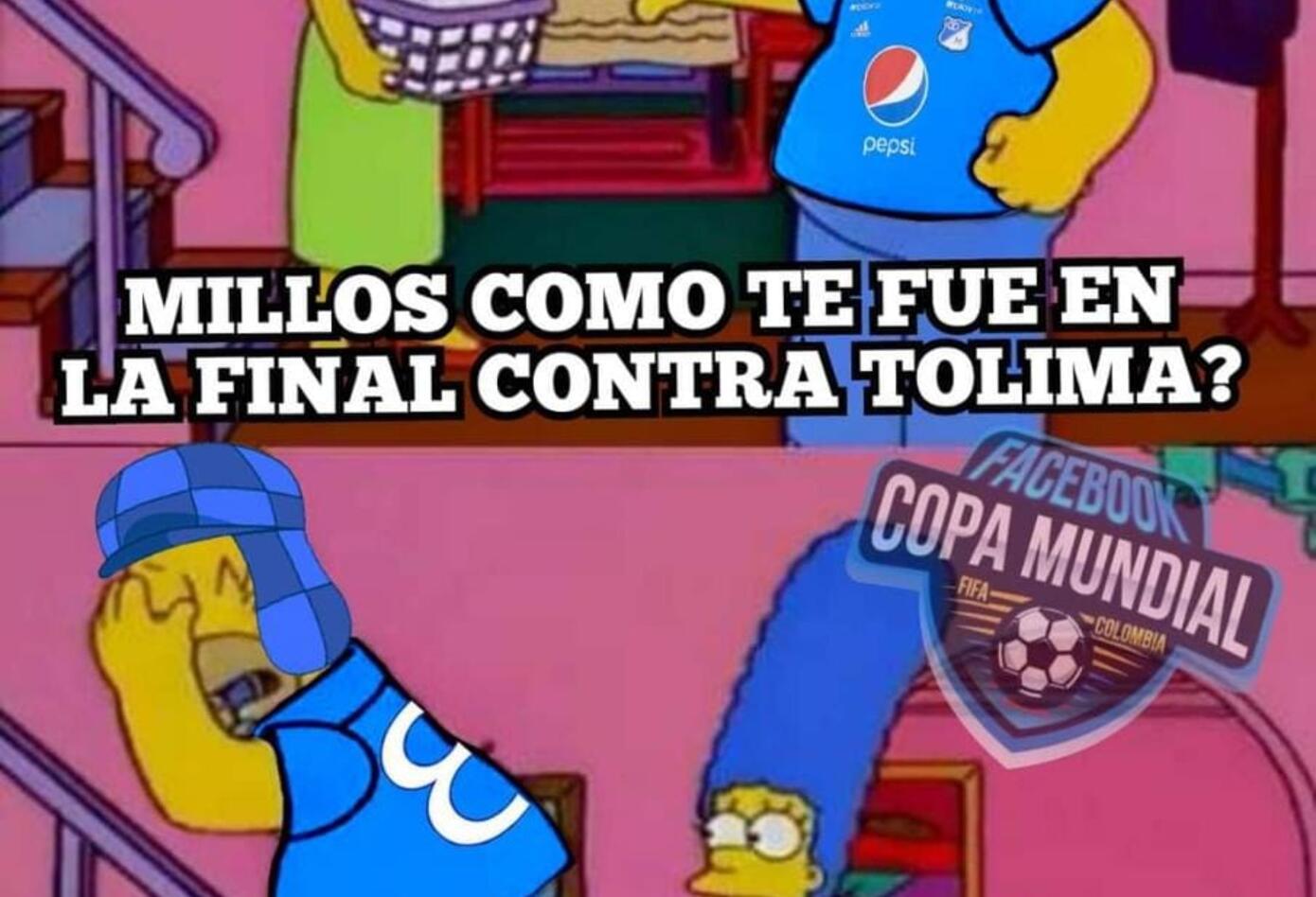 Los mejores memes de la derrota de Millonarios ante Tolima