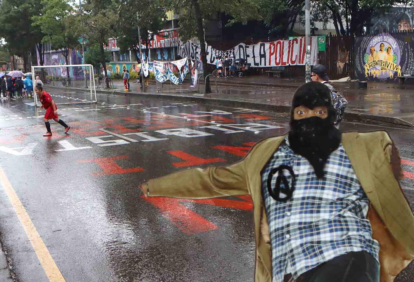 Protestas de estudiantes de la Universidad Pedagógica