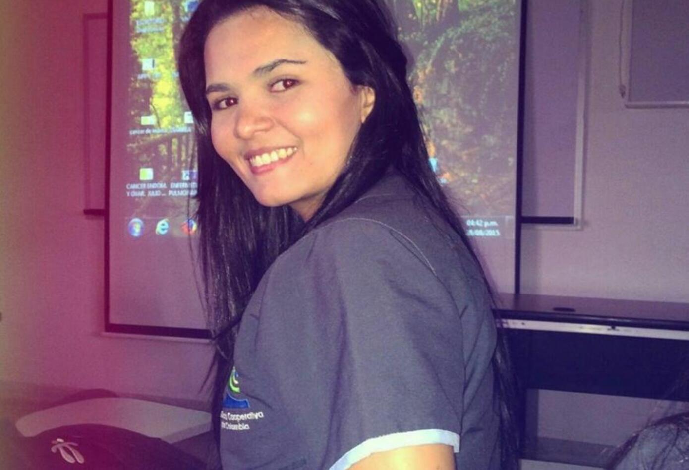 Raiza Zabaleta López falleció en accidente de tránsito donde trasladaba un paciente