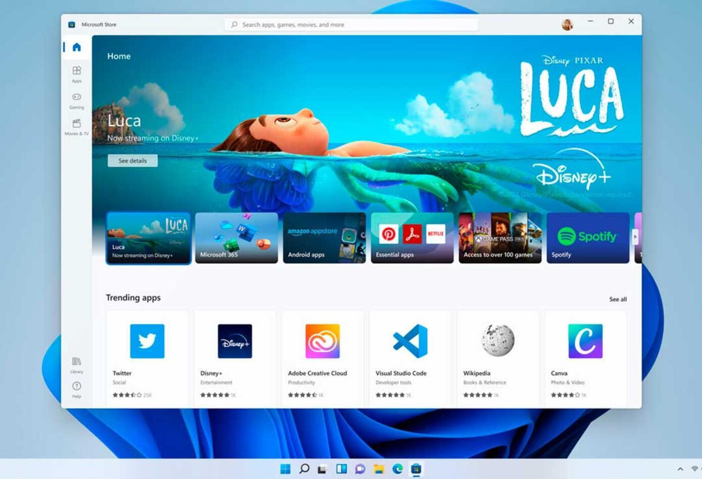 Cambios en Windows 11