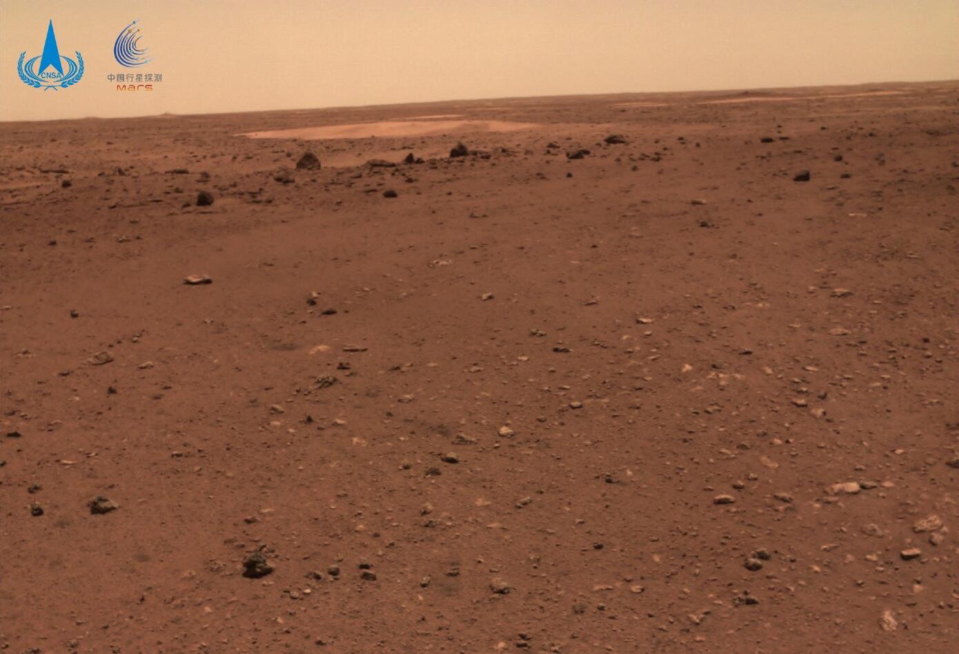 Así es el suelo de Marte tras fotografía tomada por el robot Zhurong