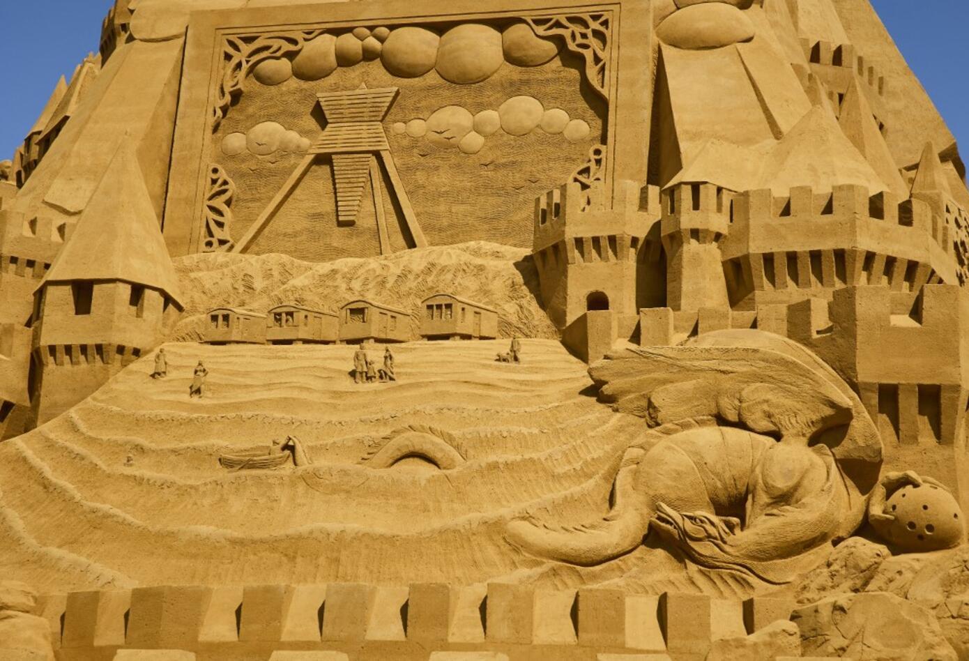 Castillo de arena más grande del mundo