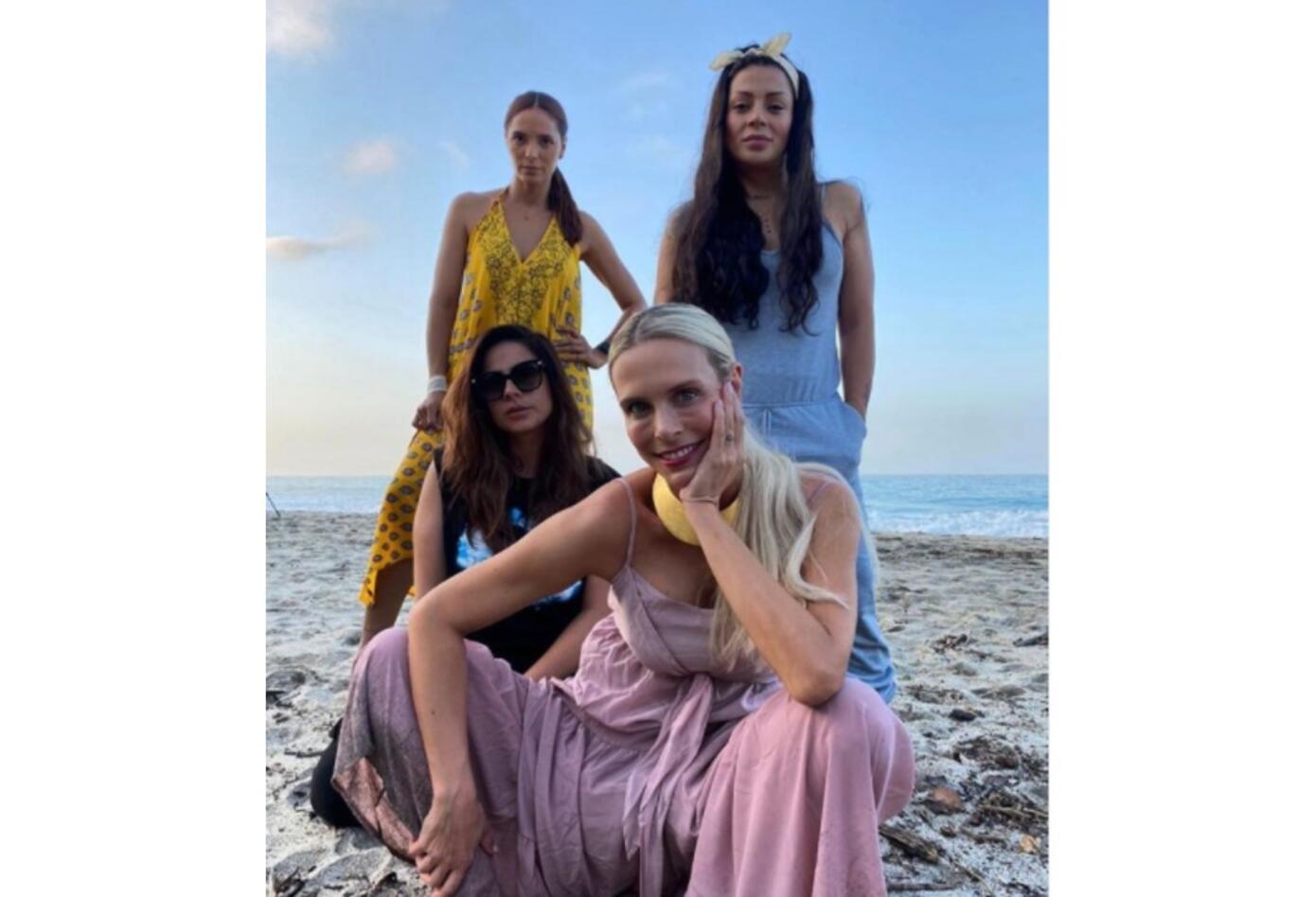 Marbelle, Catalina Maya, Viña Machado y Carla Giraldo
