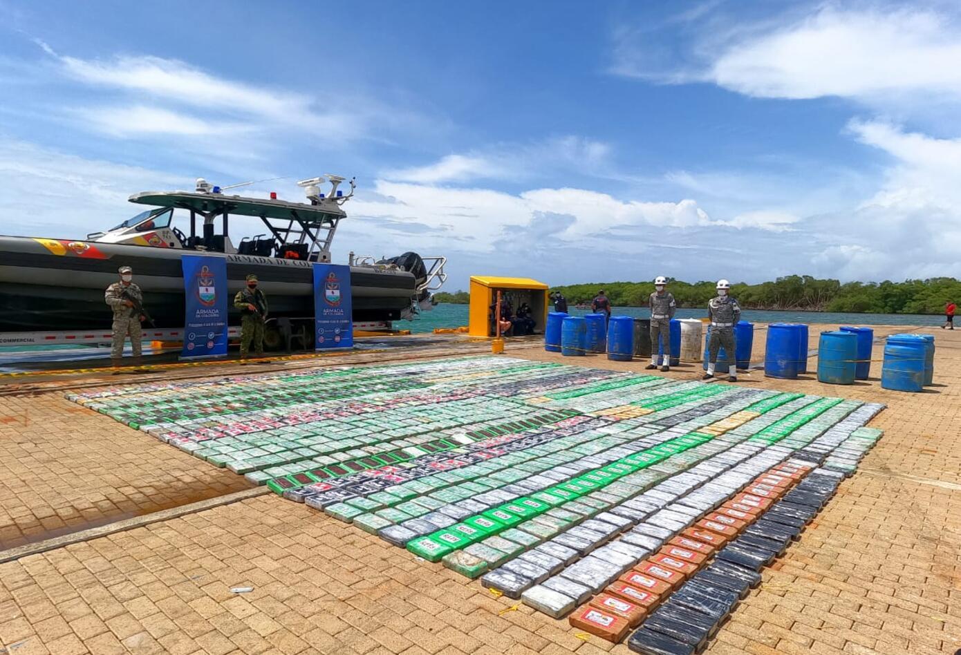Recuperado del mar Alijo, alcaloides que era transportado hacia Centroamérica