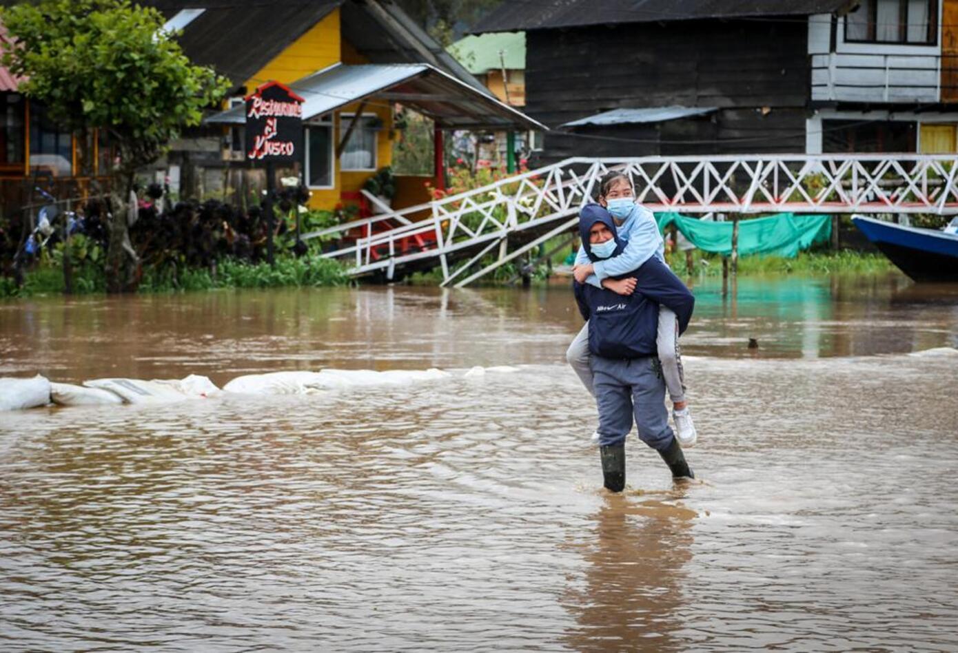 Inundación en El Encano