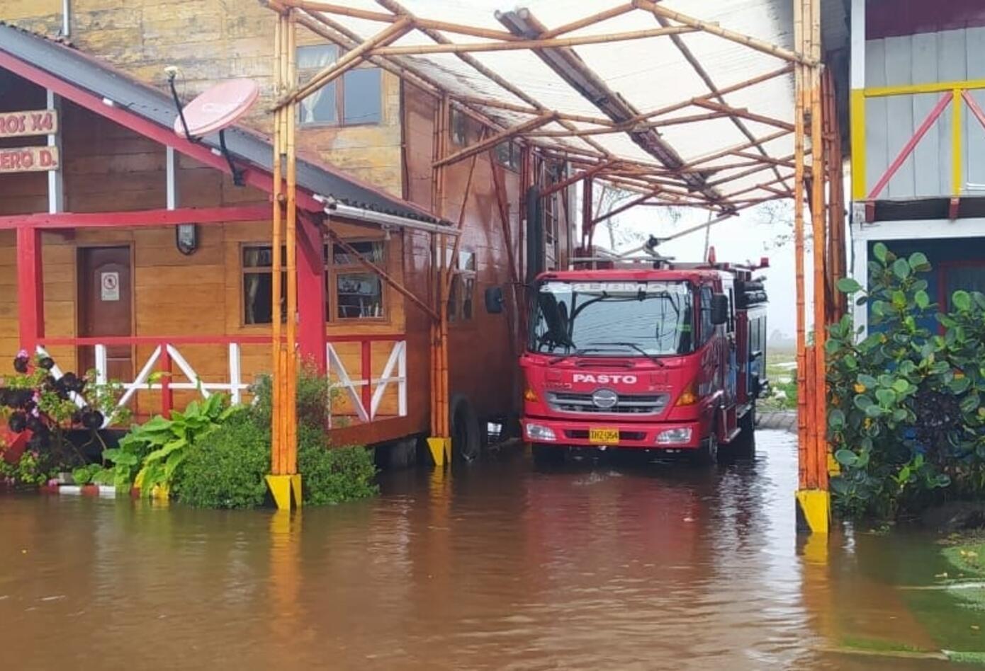 Varias viviendas se vieron afectadas