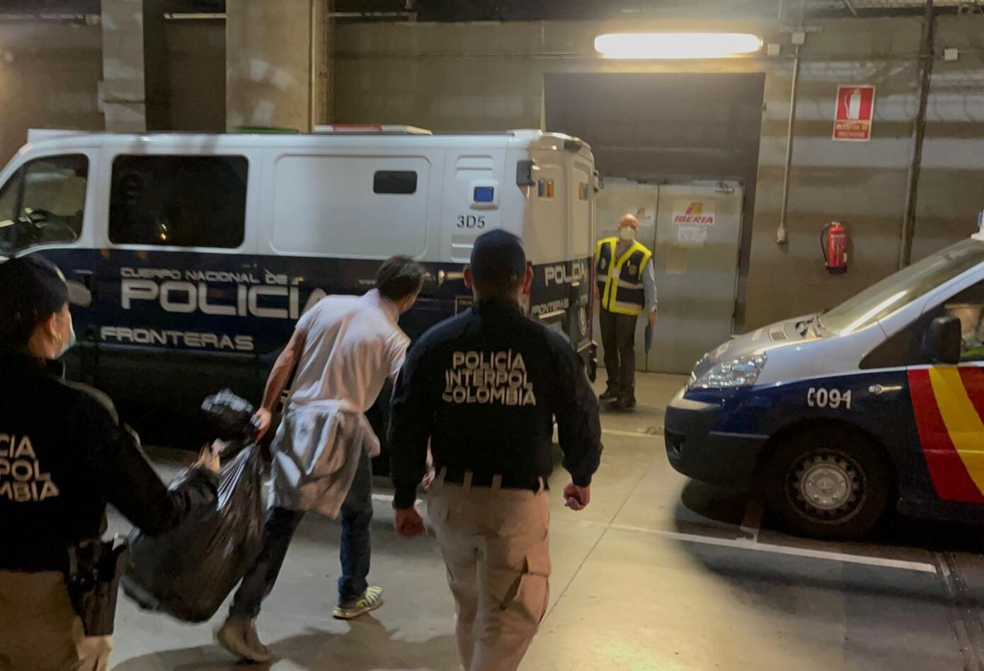Extradición de 'el zarco' a Colombia