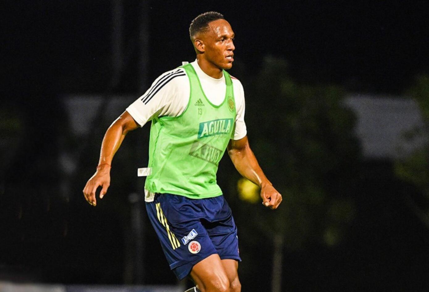 Selección Colombia entrenamientos