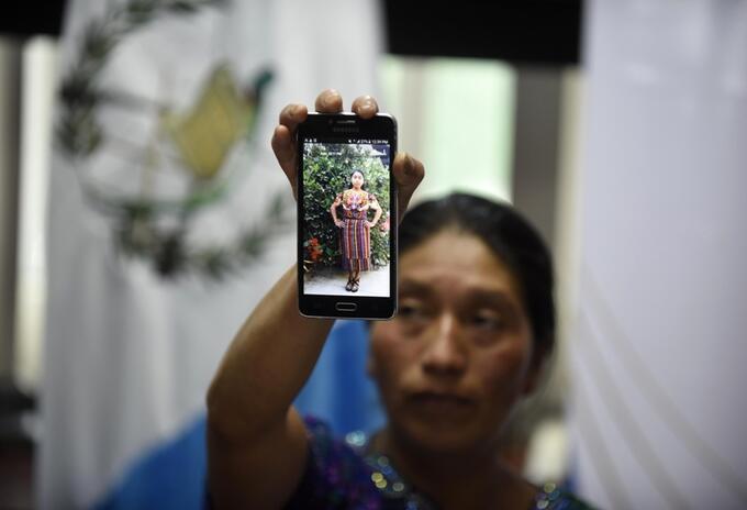 Las autoridades guatemaltecas aún esperan el informe oficial con la identidad de la joven.