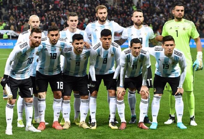 Selección Argentina previo a Rusia 2018