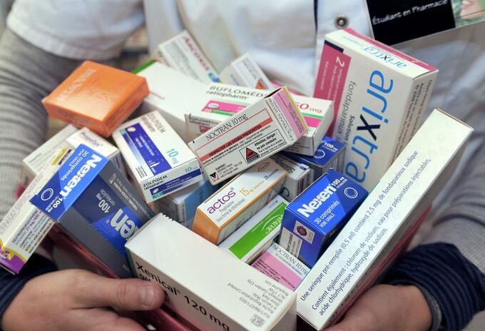 Medicamentos en el país.