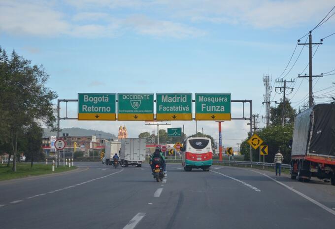 Municipios Sabana de occidente