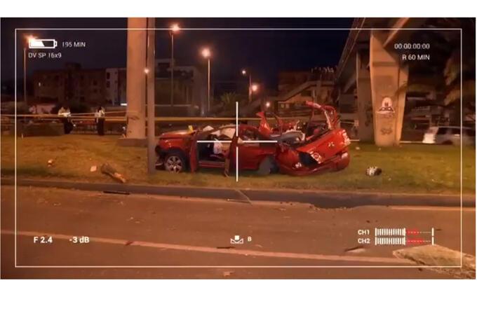 Así fue el accidente de Irlanda y Daniela Meléndez