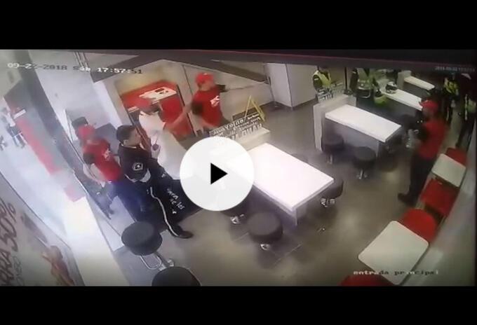 Atraco en KFC de Suba