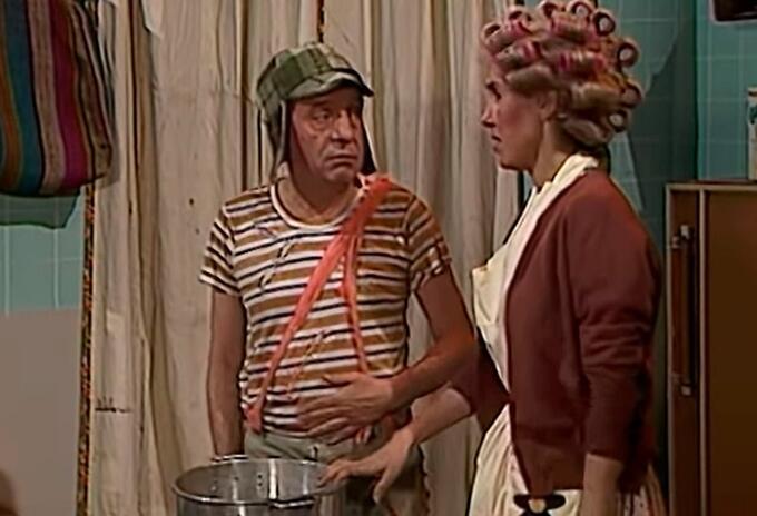 Doña Florinda y el Chavo