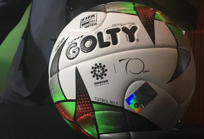 La Dimayor presentó el Balón Golty para la Liga Águila, así como el Torneo Águila y la Copa
