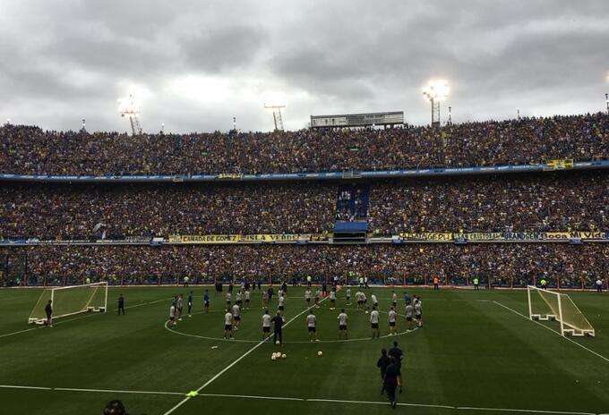 Los xeneizes sueñan con otra Copa Libertadores.