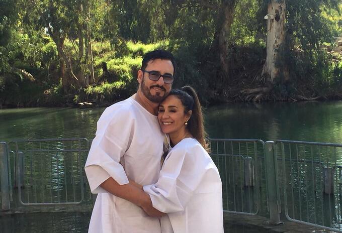 Miguel Varoni y Catherine Siachoque se conocieron en Las Juanas