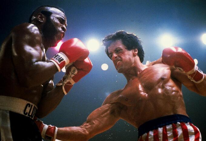 Sylvester Stallone en Rocky 3