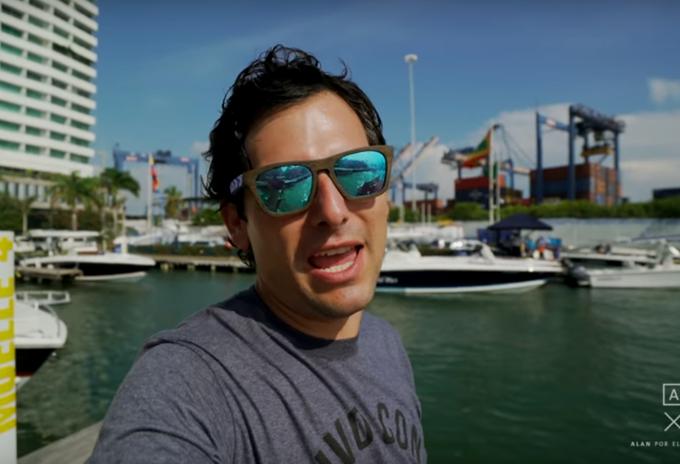 Se trata del youtuber Alan X el Mundo quien por medio de un video denunció presunta estafa en la isla de Cholón