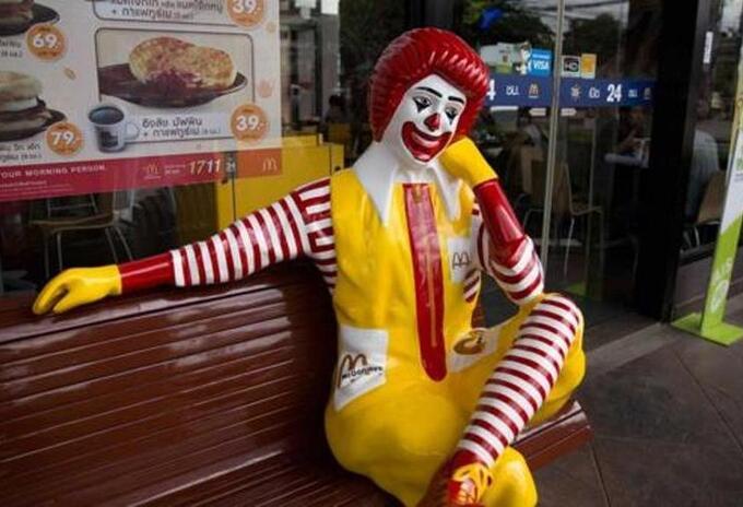 Payaso de McDonald's