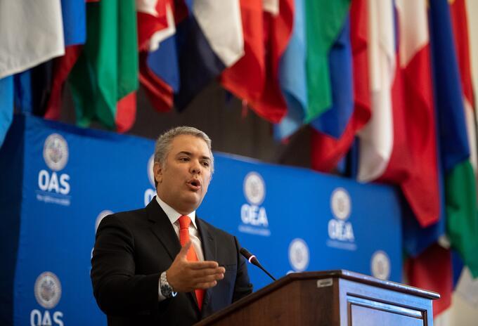 Presidente Iván Duque interviene ante la OEA