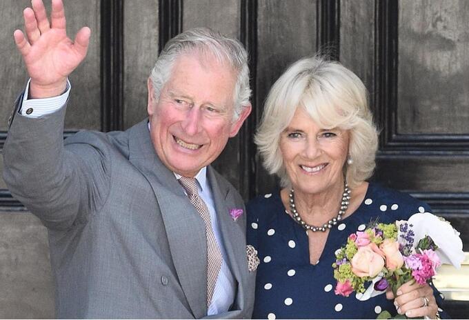 El príncipe Carlos y Camilla