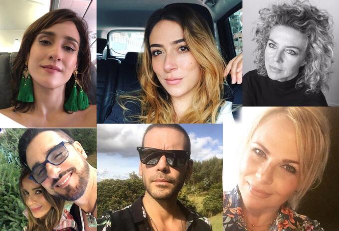 Muchos de los actores, actrices y cantantes de la televisión nacional, son familia y tal vez mucha gente no lo sabía.
