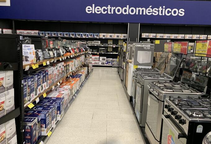 Comercio de electrodomésticos
