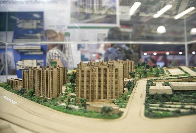 Maquetas de proyectos de vivienda